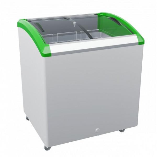 Морозильный ларь JUKA  M200SF с  алюминиевым профилем, 238 л